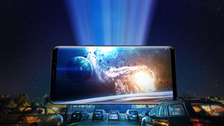 移动影视库,三星S9支持超大容量存储,缓存无忧