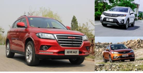 三款高颜值国产小型SUV对比,谁能略胜一筹?